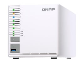 Qnap TS-332X 4GB 3-Bay SATA RAID 0 1 5 QC GBE 1.7G NAS, TS-332X-4G-US, 36114376, Network Attached Storage