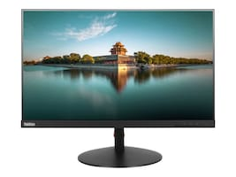 Lenovo 23.8 T24I-10 LED-LCD Monitor, Black, 61A6MAR3US, 33846256, Monitors
