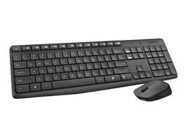 Logitech MK235 Wireless Keyboard & Mouse, Black, 920-007897, 31244307, Keyboard/Mouse Combinations