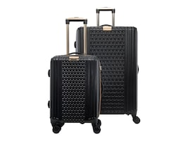 Eco Style 2PC SET ST TROPEZ HARD LUGGAGE CASE, SLSTP-HLBK-2P, 36714224, Carrying Cases - Other