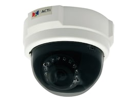 Acti E54 5MP Indoor Dome Camera w  Day Night, Adaptive IR & Basic WDR, E54, 15593195, Cameras - Security