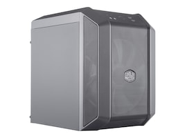 Cooler Master Chassis, MasterCase H100 Mini-ITX Case, MCM-H100-KANN-S00, 37416552, Cases - Systems/Servers