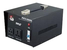 Pyle Step Up & Step Down 3000W Voltage Converter, PVTC3000U, 33249195, Power Converters
