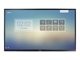 Optoma 65 OP651RK 4K Ultra HD LED-LCD Touchscreen Display, Black, OP651RK, 36646671, Monitors - Large Format - Touchscreen