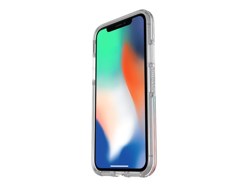 new styles d237a 894ee OtterBox Symmetry Breezy Clear Case for iPhone X