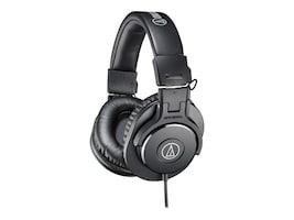 Audio-Technica ATP Closed-Back SED-Back Dynamic Monitor Headphones, ATH-M30X, 38176917, Headphones