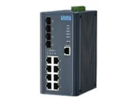 Quatech EKI-7712E-4FI DIN WM Managed Switch 8xFaE 4xSFP, EKI-7712E-4FI-AE, 35204100, Network Switches