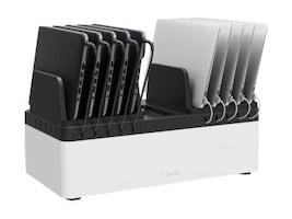 Belkin 10-Unit Store and Charge Go with Fixed Bins, B2B141, 34200975, Charging Stations