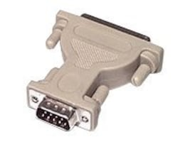 C2G DB9M to DB25F Serial Adapter, 02449, 134629, Adapters & Port Converters