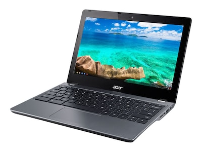 Acer Chromebook C740-C4PE Celeron 3205U 1.5GHz 4GB 16GB SSD ac BT WC 11.6 HD ChromeOS, NX.EF2AA.002, 18403852, Notebooks