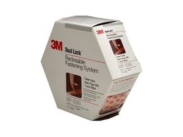 3M 1in. x 4.9yd. Dual Lock Clear Reclosable Fasteners, MP3560, 9778142, Office Supplies