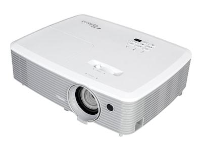 Optoma W355 WXGA 3D DLP Projector, 3600 Lumens, White, W355, 32838123, Projectors