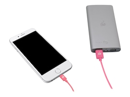 IOGEAR Reversible USB to Lightning Cable, Pink, 1m, GRUL01-PK, 22160005, Cables