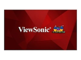 ViewSonic 64.5 CDE6510 4K Ultra HD LED-LCD Display, Black, CDE6510, 34998606, Monitors - Large Format