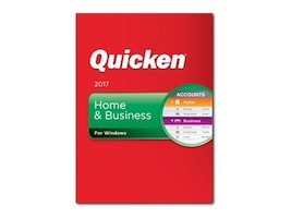 Intuit Corp. Quicken 2017 Home & Business - Boxed Product, 170029, 33039526, Software - Financial