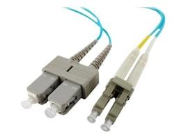 Axiom LC-SC 50 125 OM4 Multimode Duplex Cable, 10m, LCSCOM4MD10M-AX, 17575943, Cables