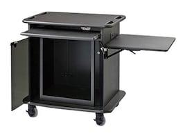 Multimedia Cart, Black Laminate, 103324, 35173657, Computer Carts