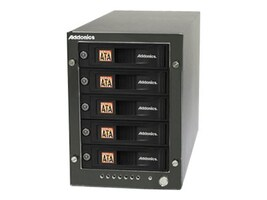Addonics RT5 5X1 HPM-XU 5X Snap-In MR eSATA USB 3.0 Enclosure, RT55SNHXU3, 15917479, Hard Drive Enclosures - Multiple