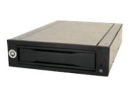 CRU DX115 DC, Frame Only, SAS:SATA 6.0Gbps, Auto Start & Host L.E.D Feature, Black, RoHS, 6602-6500-0500, 14634426, Hard Drive Enclosures - Multiple