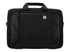 V7 16 Professional Toploading Laptop Briefcase, Black, CTP16-BLK-9N, 35182861, Carrying Cases - Notebook