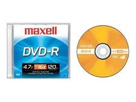Maxell MAXELL 4.7 GB DVD-R, 638000, 41048795, CD Media