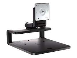 HP Adjustable Stand for Flat Panel, AW663AA#ABA, 11591011, Stands & Mounts - Desktop Monitors