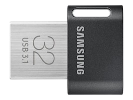 Samsung 32GB USB 3.1 FIT Plus Flash Drive, MUF-32AB/AM, 35858429, Flash Drives