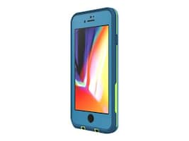 Lifeproof Fre Case for iPhone 7 8m, Banzai Blue Lime, 77-56792, 36297766, Carrying Cases - Phones/PDAs