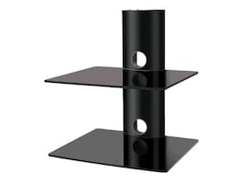Creative Concepts Dual Shelf Wall Mount, CC-S2, 11945173, Stands & Mounts - AV