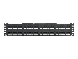 Panduit 48-port 2RU Cat5e Punchdown Patch Panel, NK5EPPG48Y, 17913287, Patch Panels