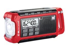 Midland Radio EMERGENCY COMPACT CRANK RADIO  PERPWEATHER ALERTS +SOLAR & BATT OPTION, ER210, 31444309, Two-Way Radios