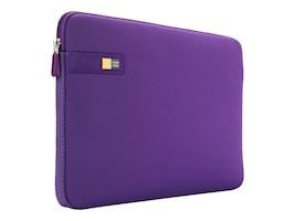 Case Logic 13.3 Laptop Sleeve, Purple, 3201348, 15269361, Carrying Cases - Notebook