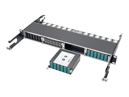 Tripp Lite 100Gb 120Gb to10Gb Breakout Cassette 24-Fiber MTP MPO 12 LC, N484-1M24-LC12, 21327192, Network Device Modules & Accessories