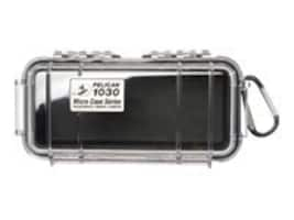 Pelican 1030 Clear Micro Case, Black, 1030-025-100, 11760988, Protective & Dust Covers