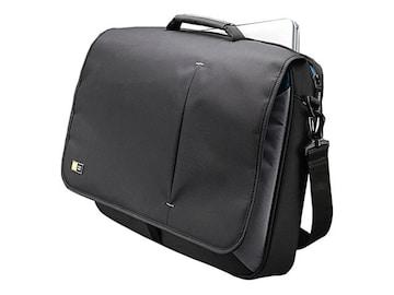 Case Logic 17 Laptop Messenger Bag, Black, 3201140, 10934253, Carrying Cases - Notebook