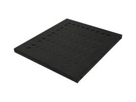 Intellinet 1U 19 Fixed Shelf, 13.58 Depth, Black, 712521, 35154173, Rack Mount Accessories