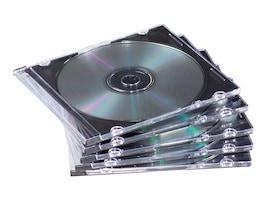 Fellowes Neato SlimLine Jewel Cases - Black (50-pack), 98330, 5830484, Media Storage Cases