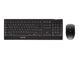 Cherry B Unlimited AES Encrypted Wireless 104+5 Keys Mouse 128-bit AES, Black, JD-0400EU-2, 31748636, Keyboard/Mouse Combinations