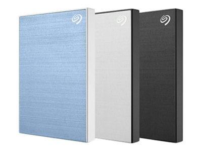 Seagate 2TB Backup Plus Slim USB 3.0 Portable Hard Drive - Black, STHN2000400, 36725476, Hard Drives - External