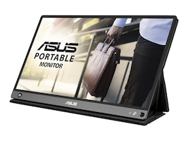 Asus 15.6IN FULL HD IPS ZENSCREEN   MNTRMICROHDMI PORTABLE MONITOR 7800MAH, MB16AHP, 37236471, Monitors