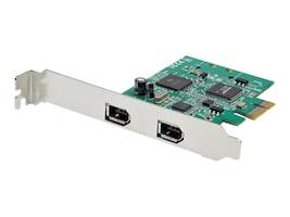StarTech.com 2-Port PCI Express FireWire 1394a Adapter Card, PEX1394A2V2, 38196475, Controller Cards & I/O Boards