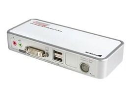 StarTech.com 2-Port USB DVI KVM Switch Kit w  Cables, USB 2.0 Hub & Audio, SV211KDVI, 8536598, KVM Switches