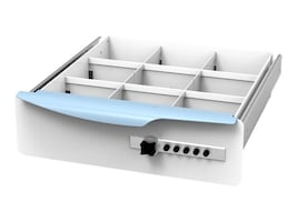 Drawer Divider for One Cart SL Drawer System, 51-4502, 33798670, Cart & Wall Station Accessories