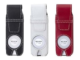Belkin CLASSIC LEATHER CASE 3PACK FOR, F8Z017, 41122711, Digital Media Player Accessories - iPod