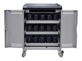 Spectrum Industries VR30 Device Cart Power Switch with Inline Outlets, 55493DBR, 34500222, Computer Carts