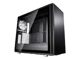 Fractal Design Chassis, Define S2 Tempered glass, Black, FD-CA-DEF-S2-BK-TGL, 36225341, Cases - Systems/Servers