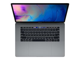 Apple MacBook Pro 15 TouchBar w ID 2.6GHz Core i7 16GB 256GB SSD Radeon Pro 555X 4GB Space Gray, MV902LL/A, 37060293, Notebooks - MacBook Pro 15-16