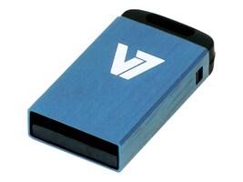 V7 8GB Nano USB 2.0 Flash Drive, Blue, VU28GCR-BLU-2N, 17259001, Flash Drives