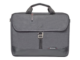 Brenthaven 15 Collins Slim Brief, Gray Chambray, 1955, 31854439, Carrying Cases - Notebook