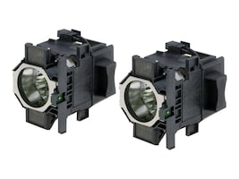 Epson ELPLP52 Dual Replacement Projector Lamp Kit, V13H010L52, 14459146, Projector Lamps